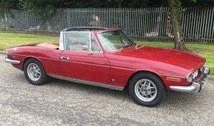 1976 Triumph Stag 3.0 V8 Auto For Sale