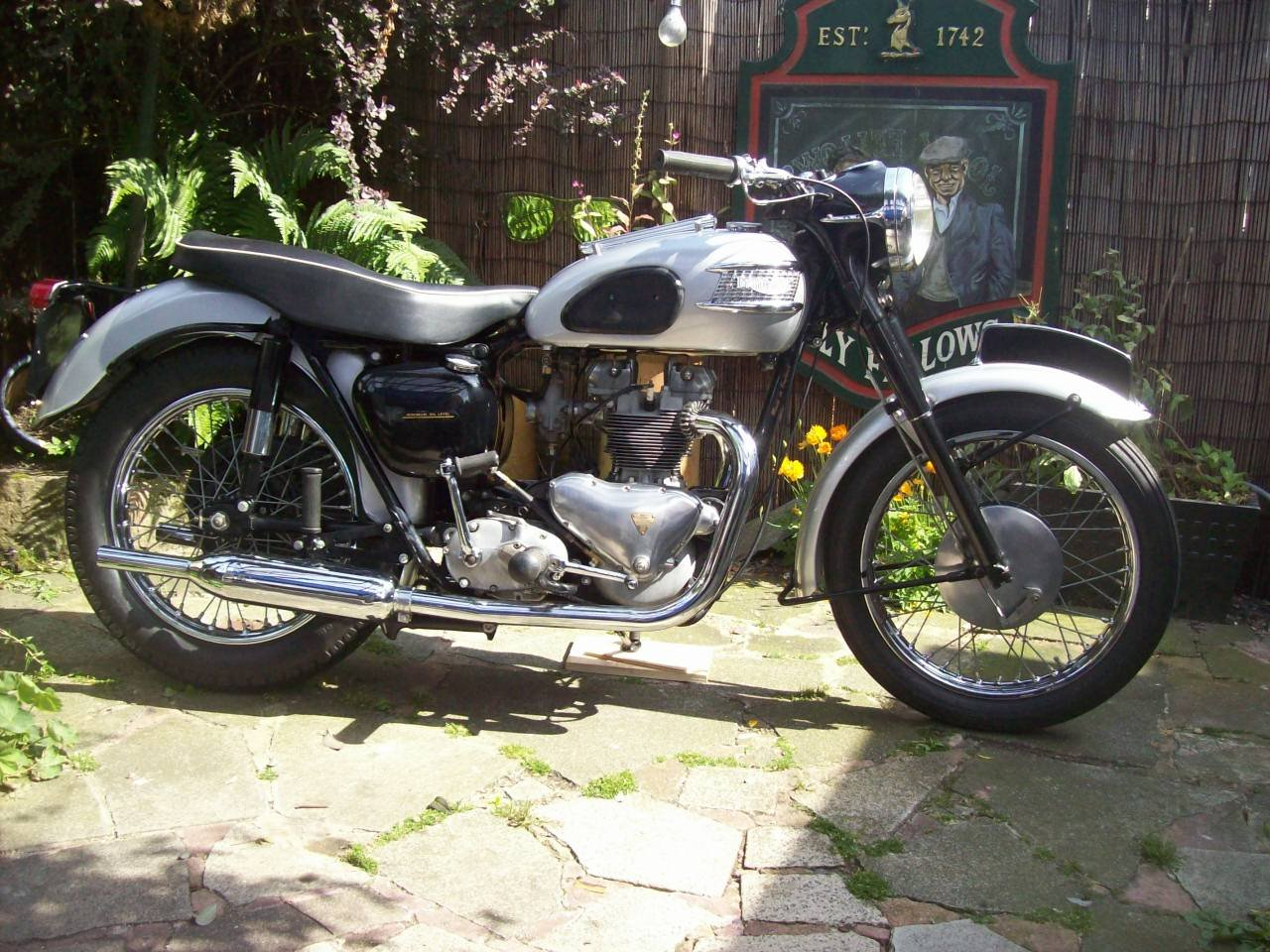 2002 1958 Triumph T100 all alloy For Sale (picture 1 of 6)