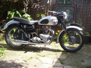 2002 1958 Triumph T100 all alloy