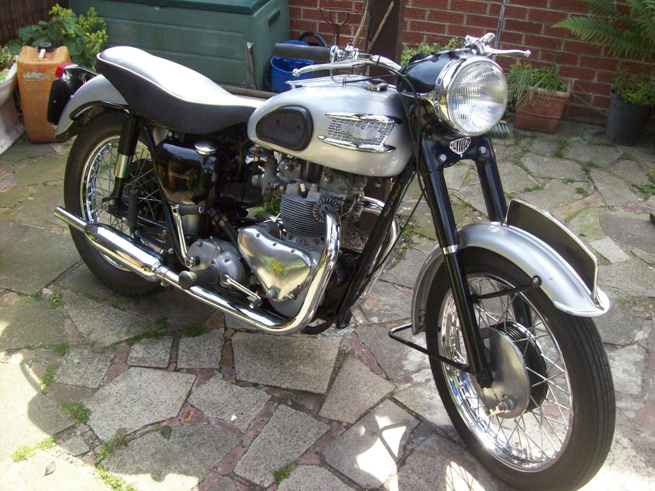 2002 1958 Triumph T100 all alloy For Sale (picture 2 of 6)