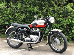 1960 Triumph Trophy TR6  Matching Numbers