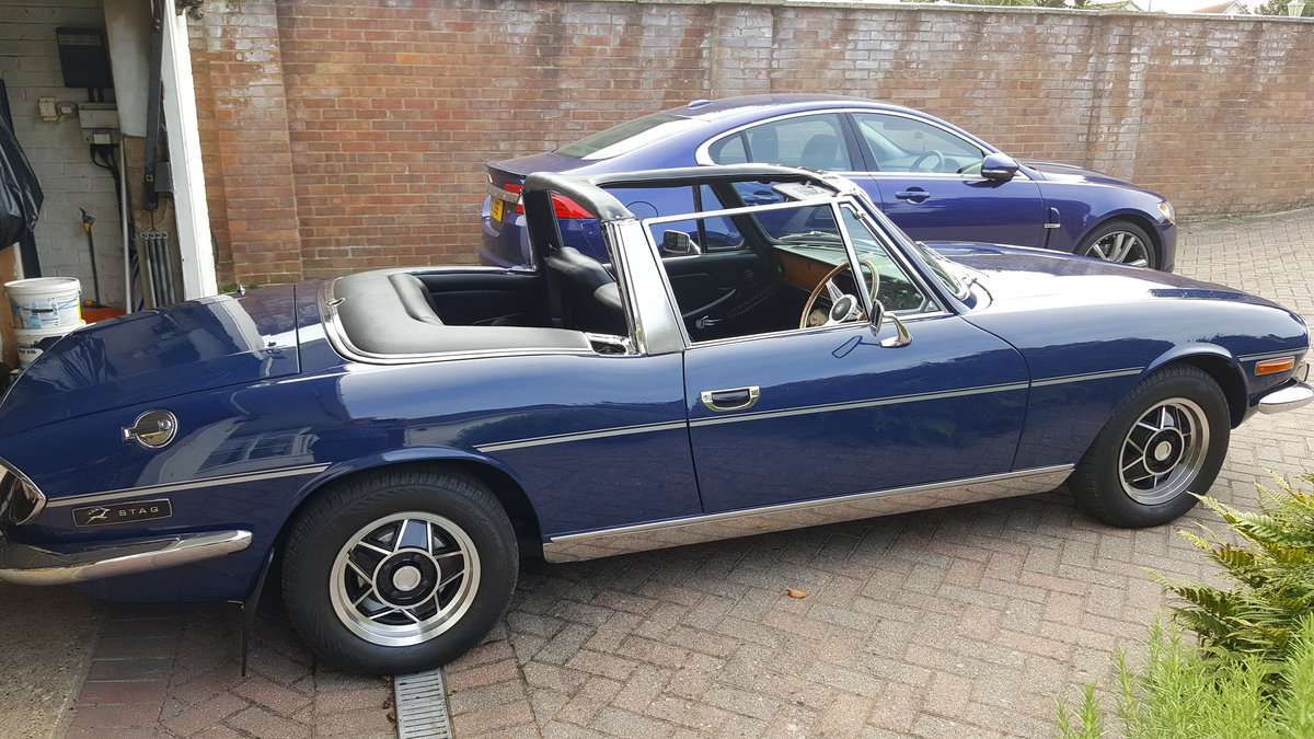 1973 Triumph Stag - V8 For Sale (picture 1 of 6)