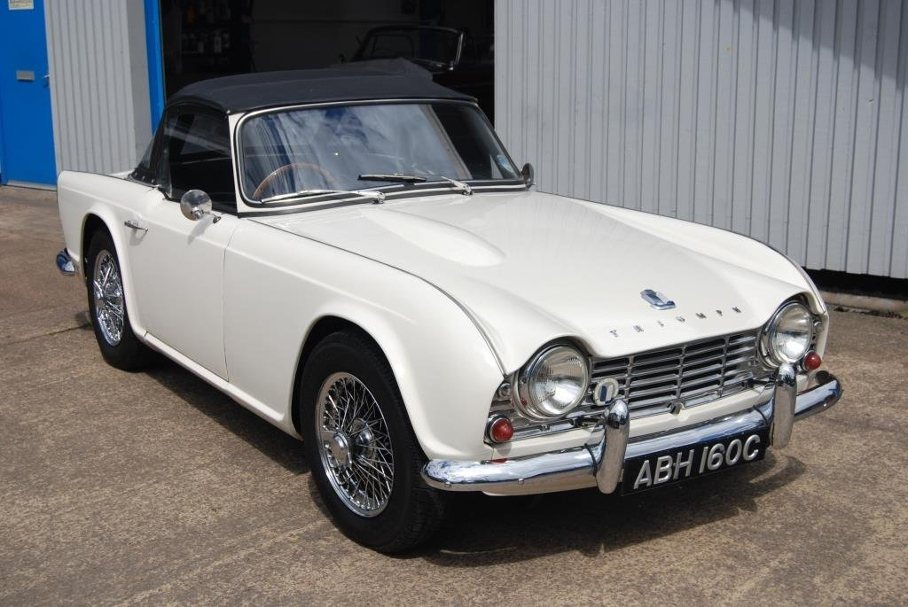 1964 Triumph TR4, Heritage Cert, Matching Nos, Smart Driver SOLD (picture 1 of 6)