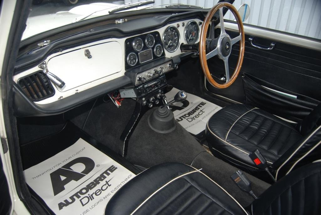 1964 Triumph TR4, Heritage Cert, Matching Nos, Smart Driver SOLD (picture 2 of 6)