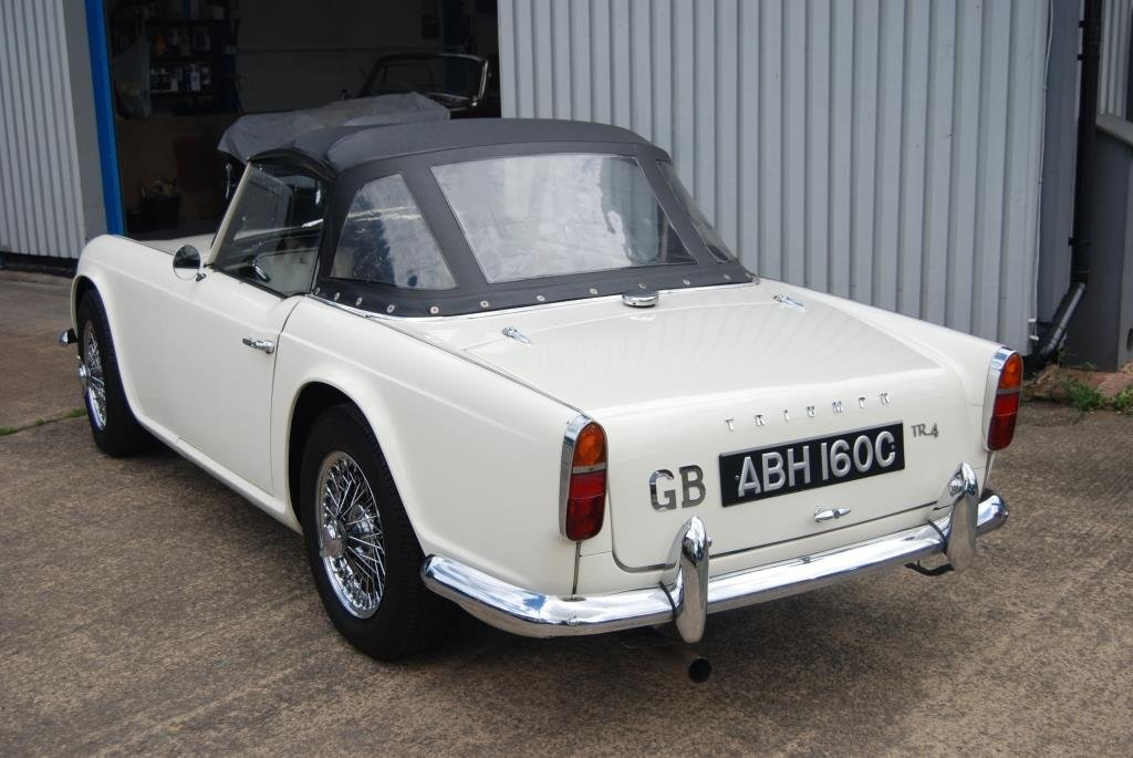 1964 Triumph TR4, Heritage Cert, Matching Nos, Smart Driver SOLD (picture 3 of 6)