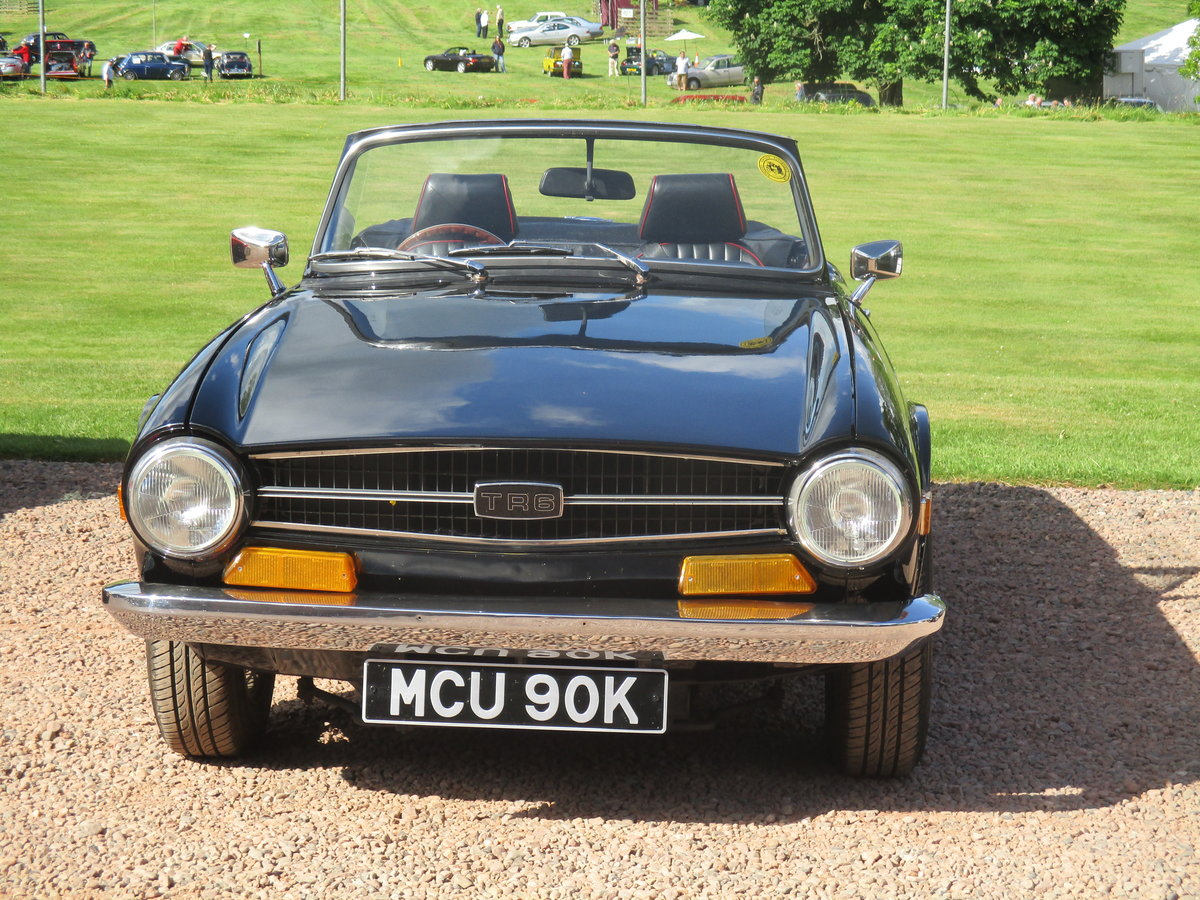 Drive Away Cars >> Triumph Tr6 1972 Turn Key And Drive Away For Sale Car And Classic