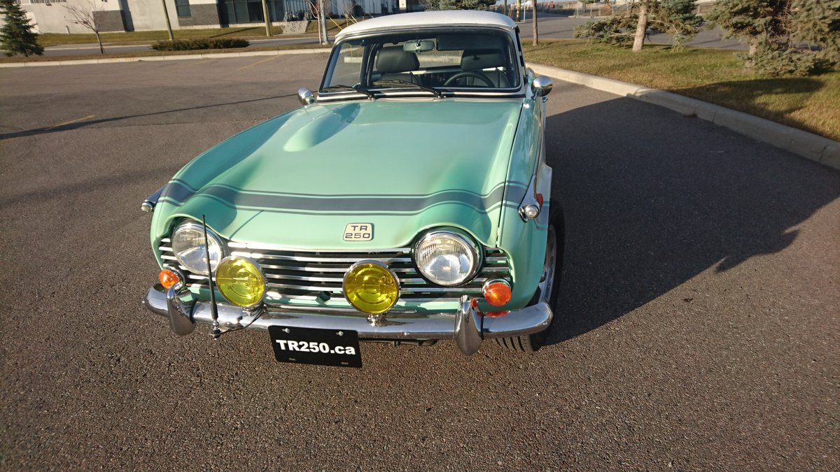 1968 Triumph tr250 Total body-off restoration. For Sale (picture 1 of 6)