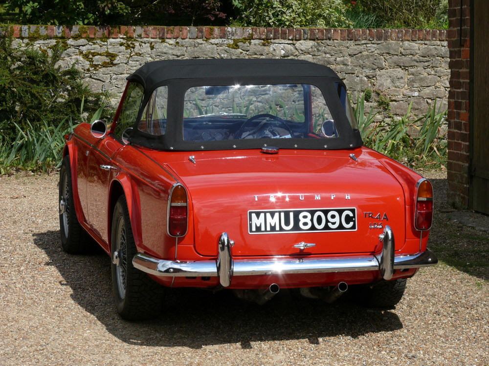 1965 Triumph TR4a IRS For Sale (picture 3 of 6)