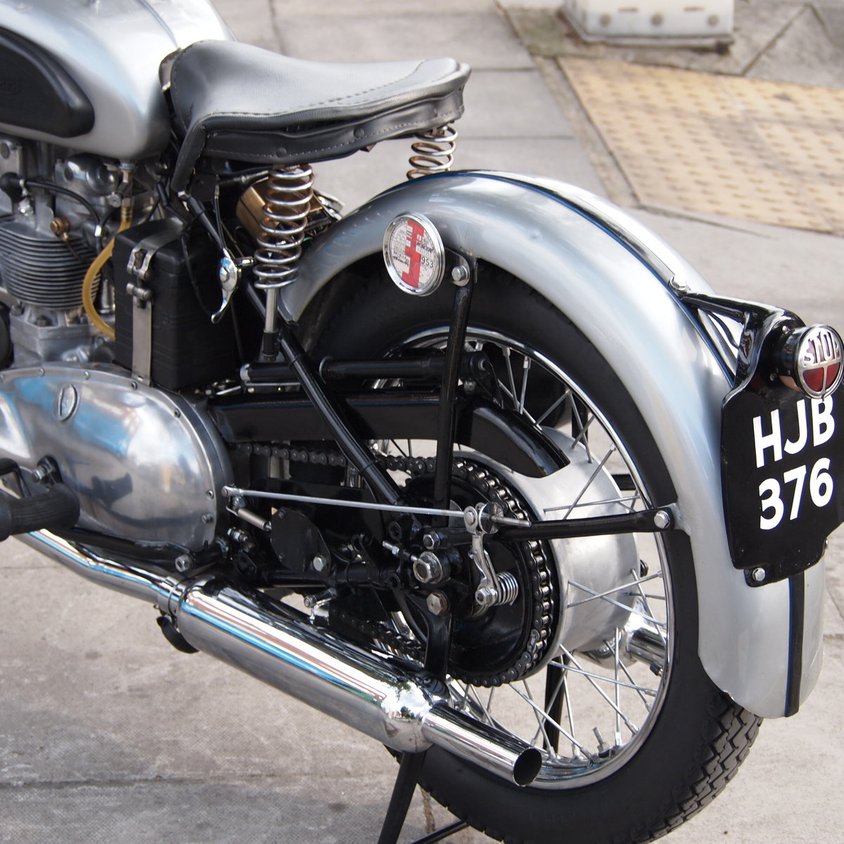 1952 T100 Tiger 499cc Sprung Hub, Lovely Bike You Must See. For Sale (picture 2 of 6)