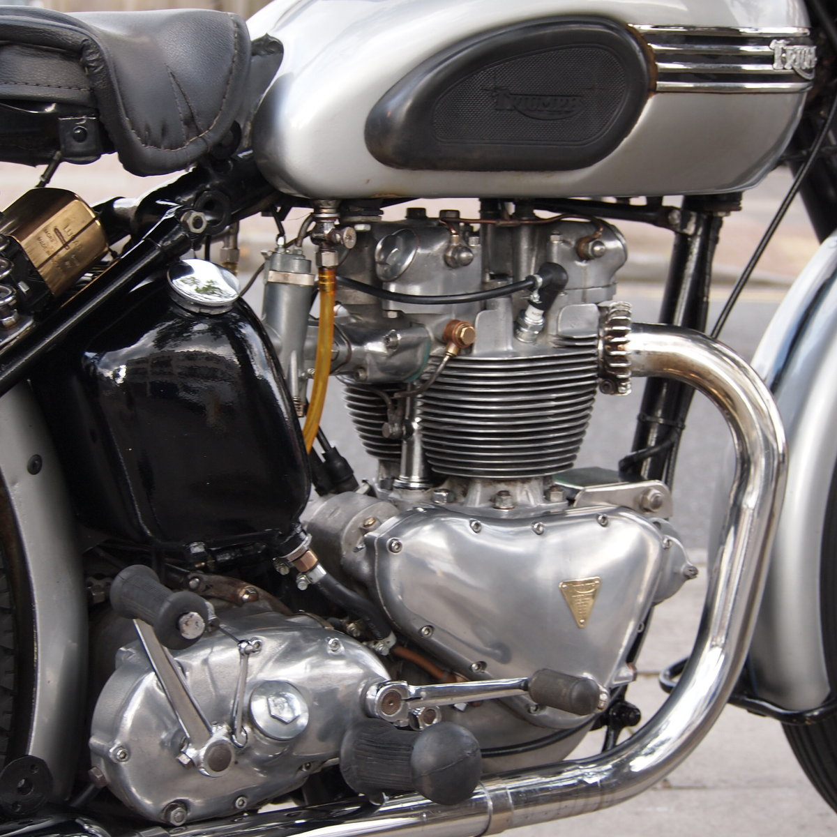 1952 T100 Tiger 499cc Sprung Hub, Lovely Bike You Must See. For Sale (picture 3 of 6)