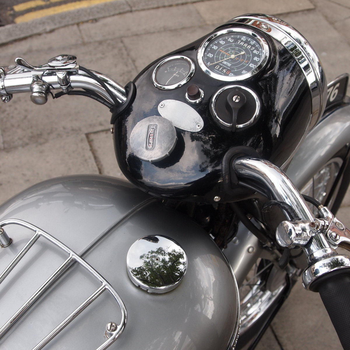 1952 T100 Tiger 499cc Sprung Hub, Lovely Bike You Must See. For Sale (picture 4 of 6)