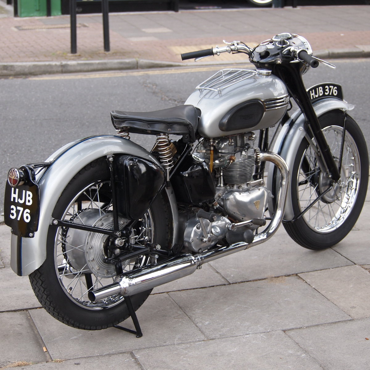 1952 T100 Tiger 499cc Sprung Hub, Lovely Bike You Must See. For Sale (picture 5 of 6)