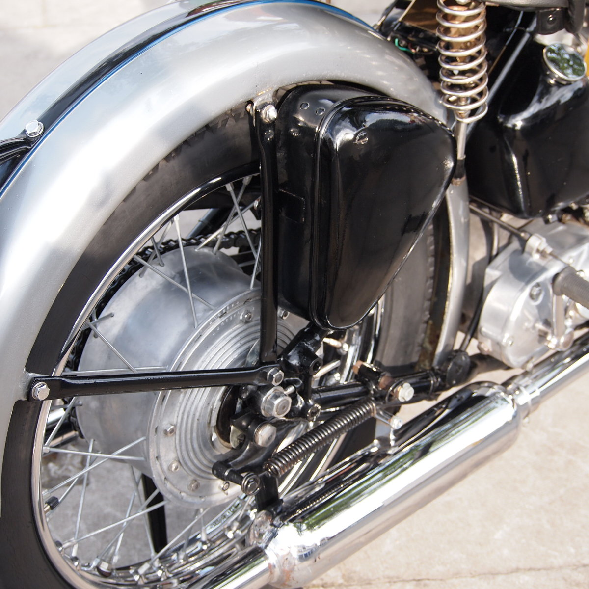 1952 T100 Tiger 499cc Sprung Hub, Lovely Bike You Must See. For Sale (picture 6 of 6)