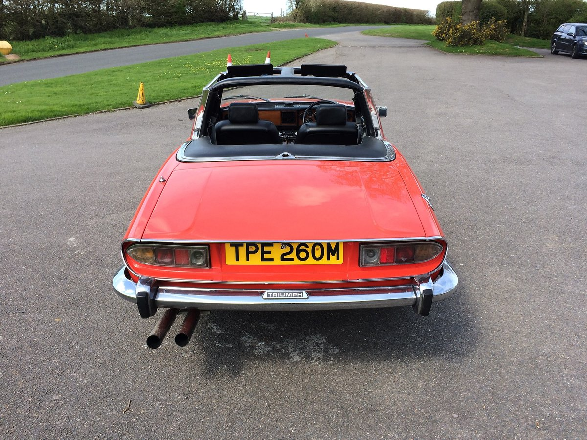 1973 Triumph stag classic car  For Sale (picture 3 of 3)