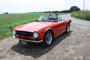 1972 TRIUMPH TR6 ORIGINAL UK 150BHP TR6 For Sale