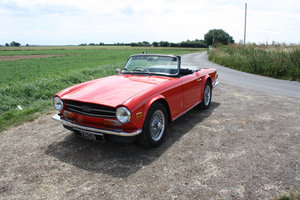1973 1974 TRIUMPH TR6 GENUINE UK RHD CAR WITH OVERDRIVE SOLD