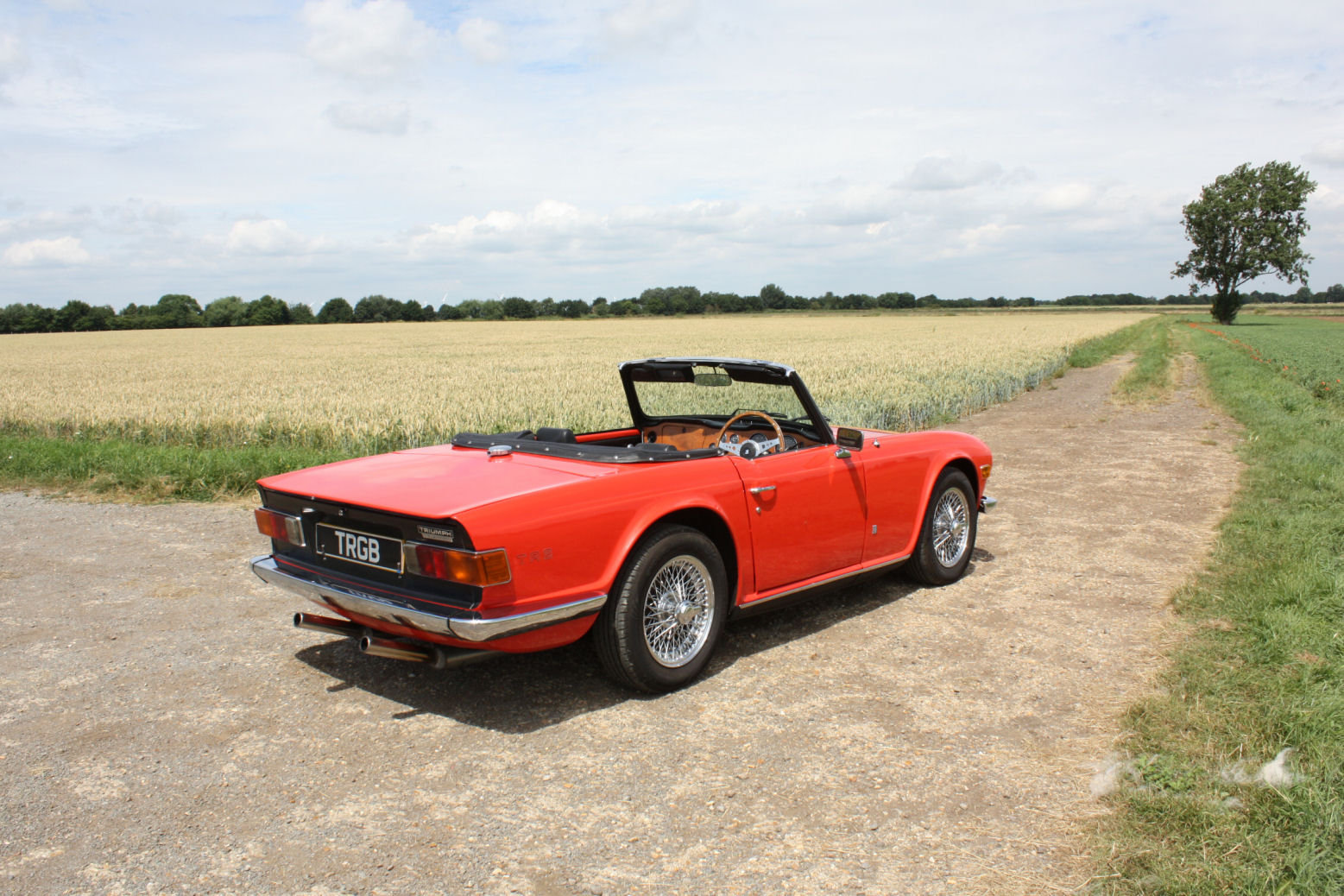 1973 1974 TRIUMPH TR6 GENUINE UK RHD CAR WITH OVERDRIVE SOLD (picture 5 of 6)