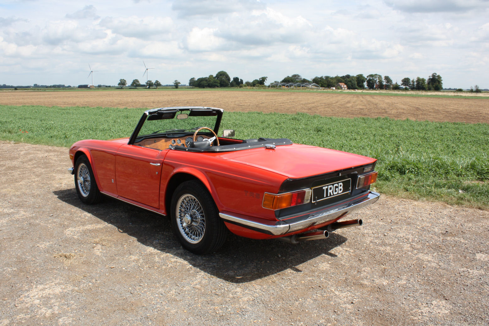 1973 1974 TRIUMPH TR6 GENUINE UK RHD CAR WITH OVERDRIVE SOLD (picture 6 of 6)