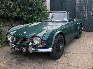 1963 Triumph TR4 For Sale by Auction