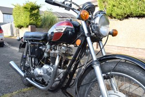 1971 good honest bonny T120R