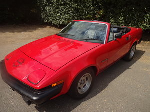 1980 TR7 2.0 CONVERTIBLE RARE FACTORY BUILT AUTOMATIC. For Sale