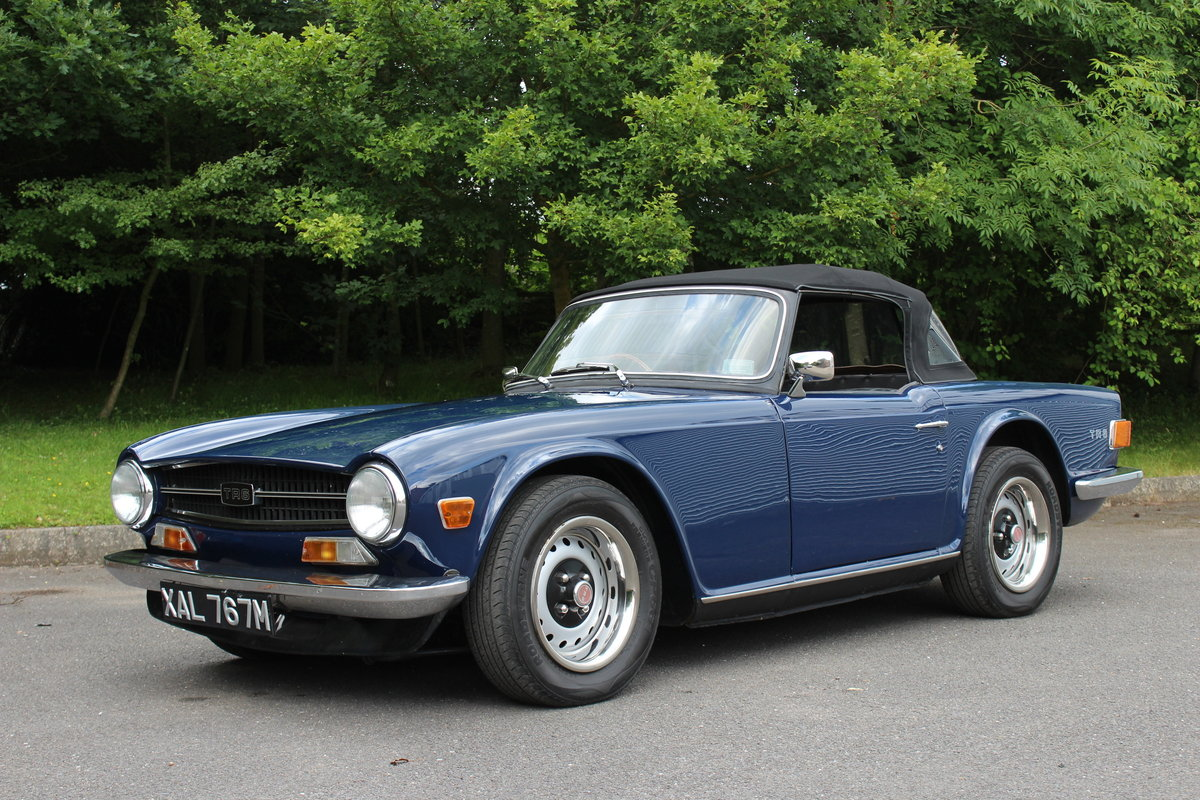 1972 TRIUMPH TR6 - 5 SPEED For Sale (picture 1 of 6)