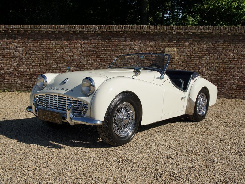 1957 Triumph TR3A Bare-Metal /Body-Off restored, only 5300 miles  For Sale (picture 1 of 6)