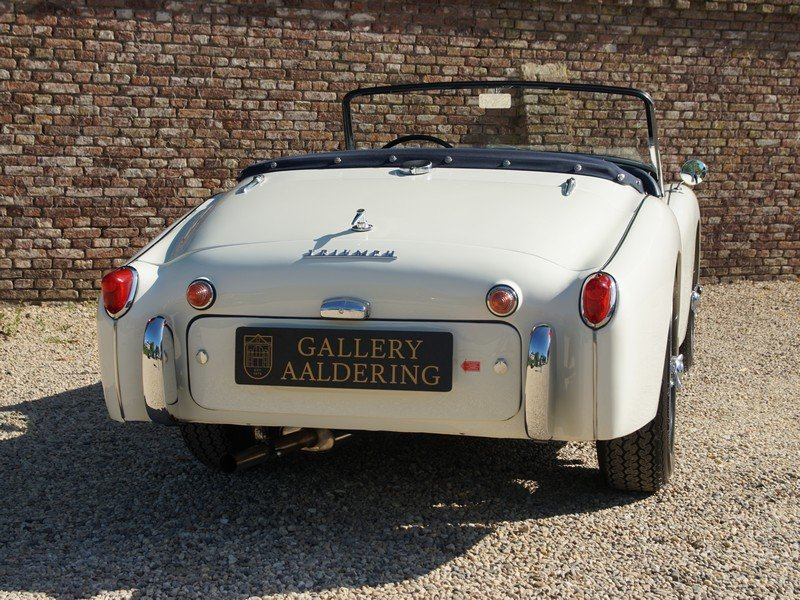 1957 Triumph TR3A Bare-Metal /Body-Off restored, only 5300 miles  For Sale (picture 6 of 6)