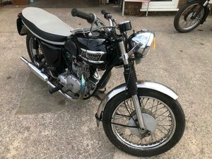 1962 TRIUMPH T100SS MANUFACTURED  MATCHING NUMBERS IDEAL PROJ
