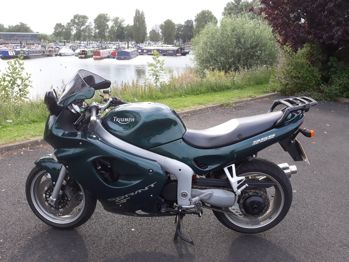 2001 Triumph Sprint Superb example For Sale (picture 2 of 6)
