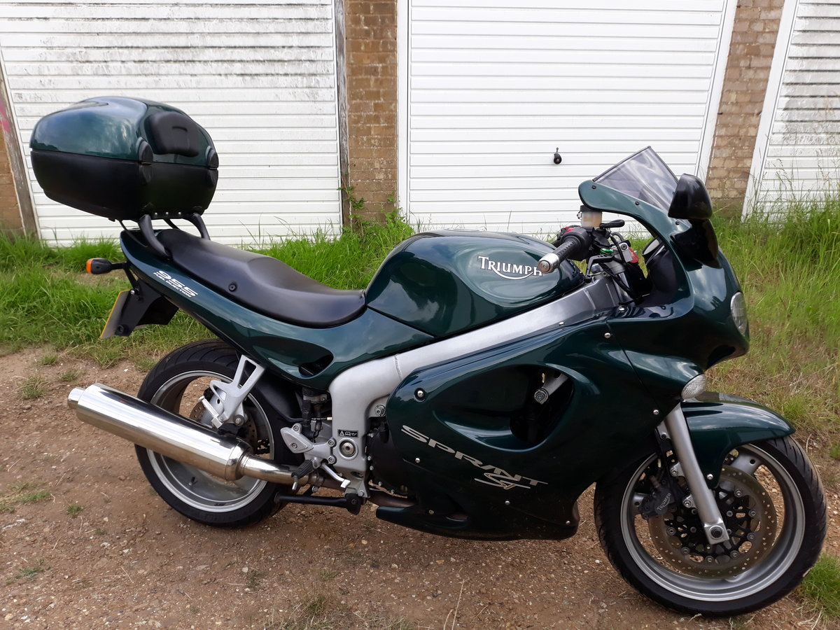 2001 Triumph Sprint Superb example For Sale (picture 4 of 6)