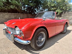 1964 LHD EX-CALIFORNIA TRIUMPH TR4 WITH OVERDRIVE For Sale