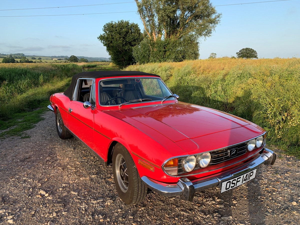 1975 Triumph Stag Mk 2 For Sale  For Sale (picture 1 of 6)