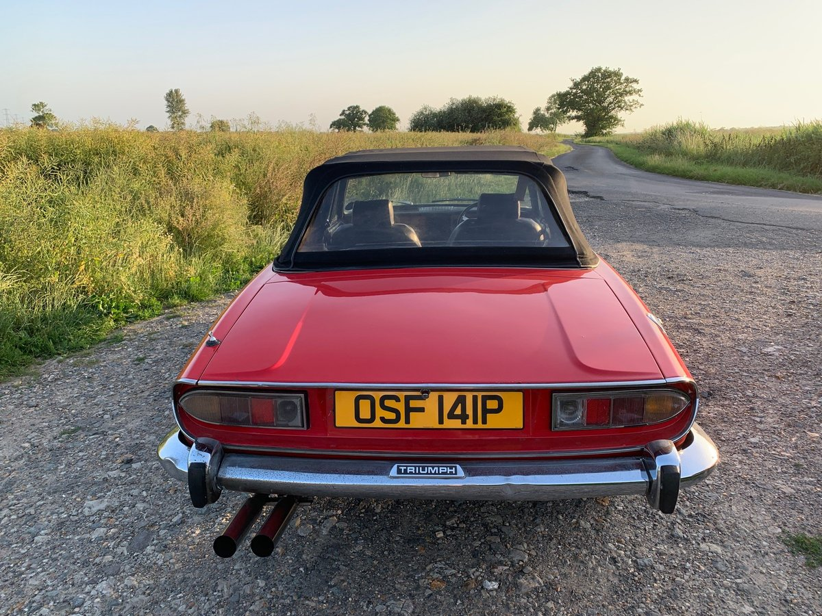 1975 Triumph Stag Mk 2 For Sale  For Sale (picture 4 of 6)