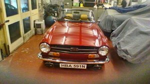 1975 Triumph TR 6 Genuine RHD car For Sale