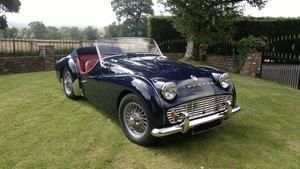 1959 triumph tr3a bare-metal /body-off restoration