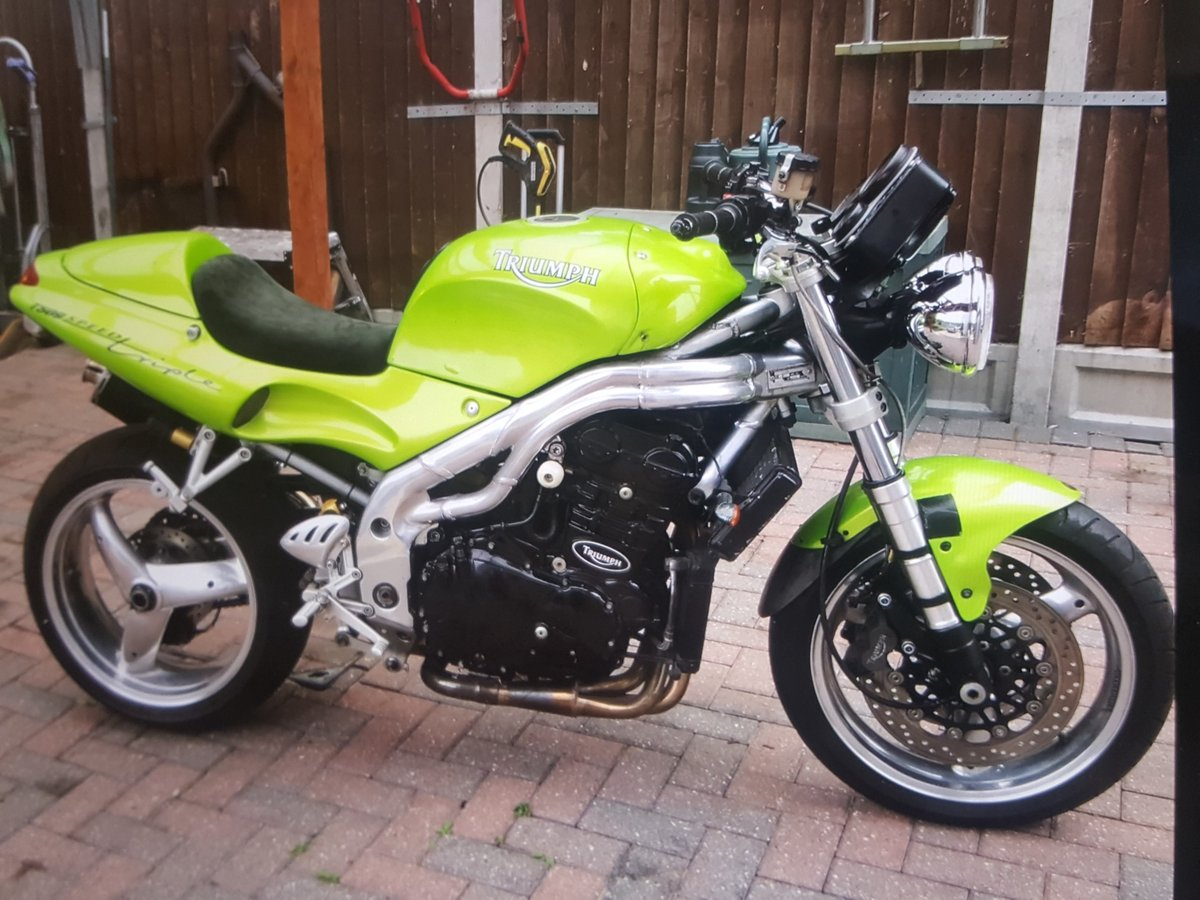1997 Triumph Speed Triple T509 For Sale (picture 1 of 2)