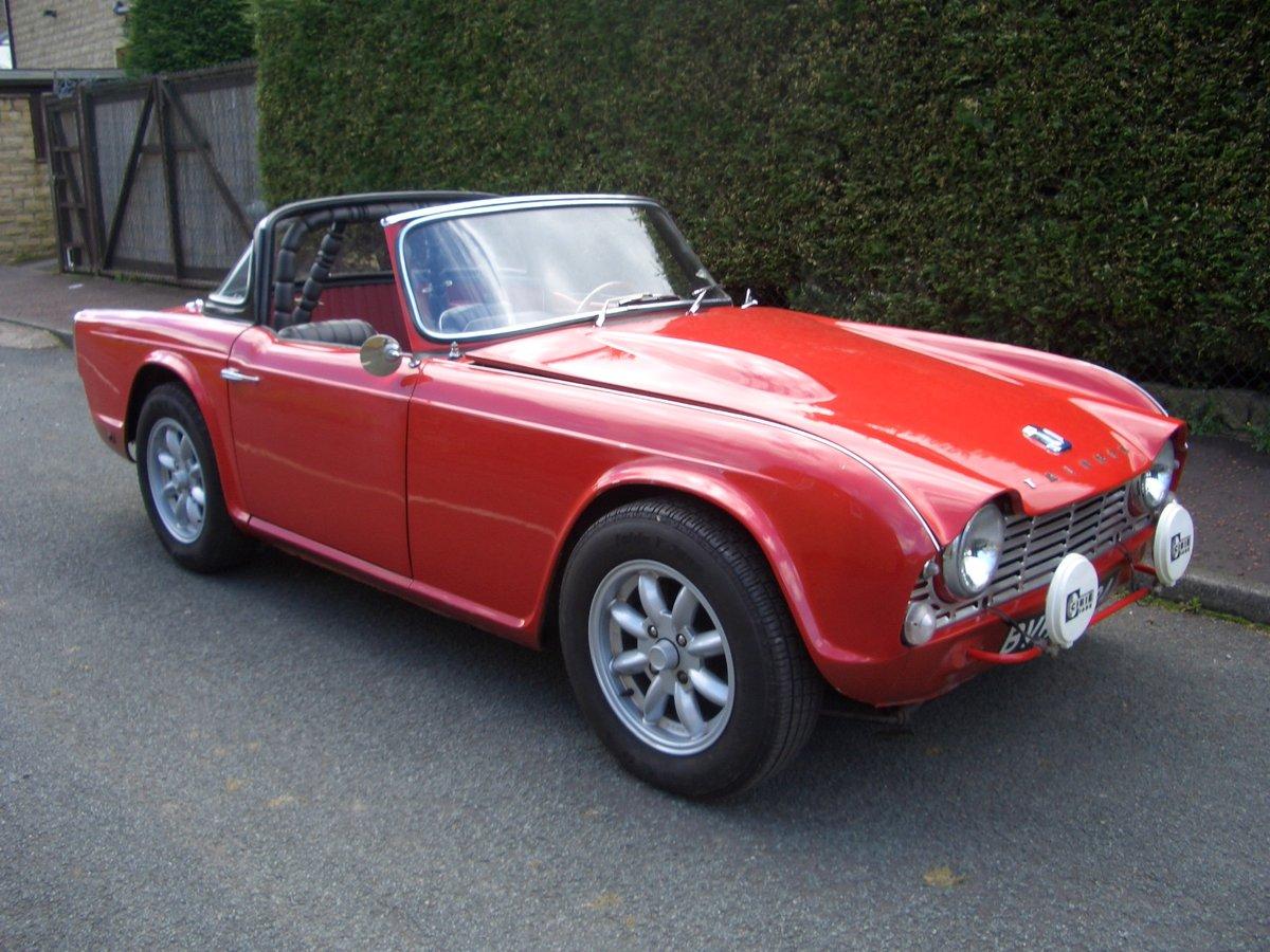 1963 Triumph TR4  For Sale (picture 1 of 6)