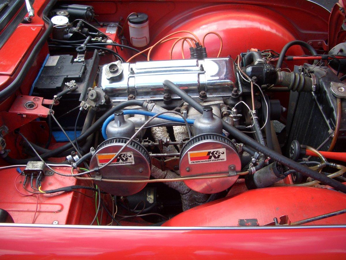 1963 Triumph TR4  For Sale (picture 5 of 6)