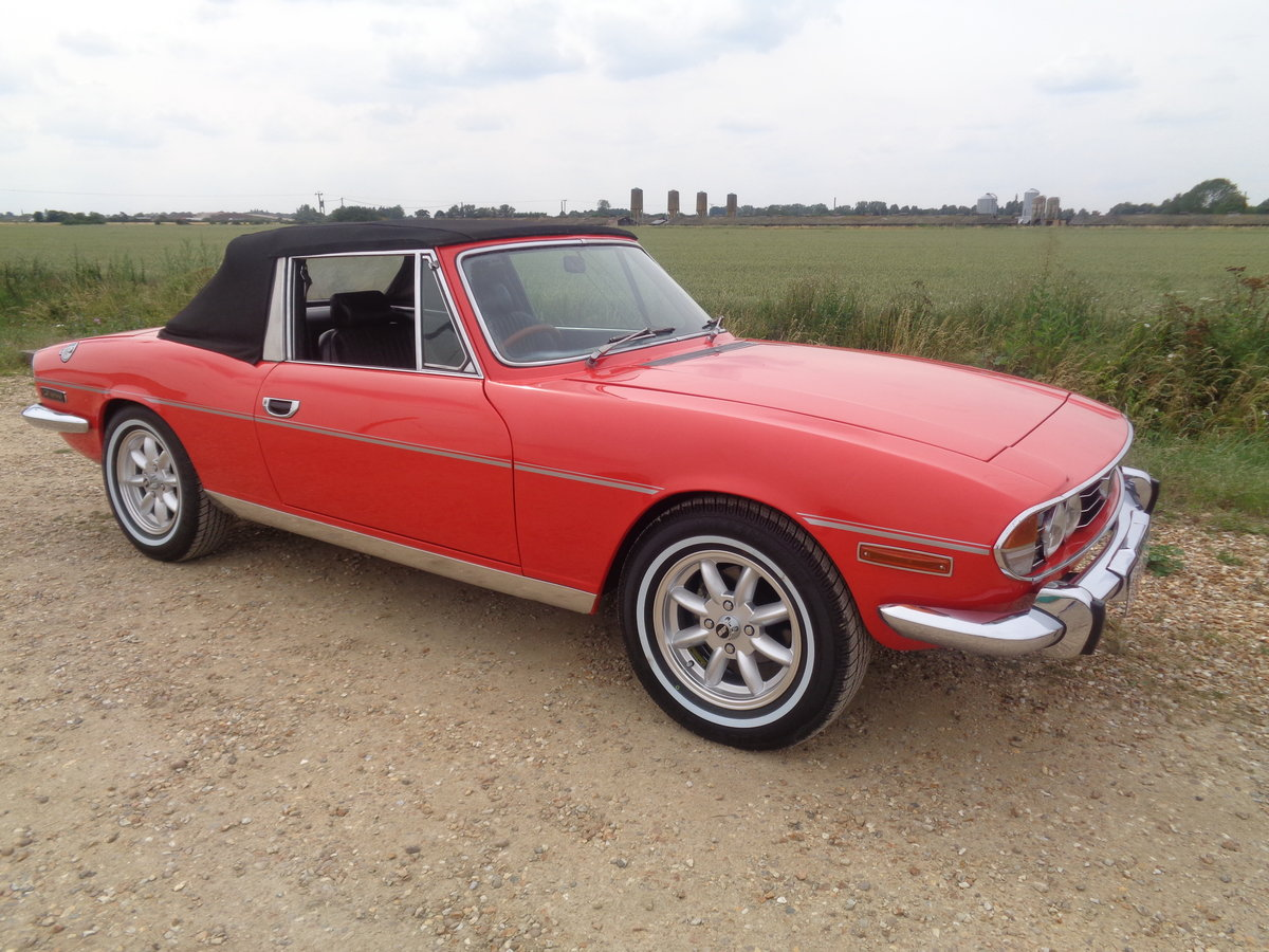 1976 Triumph stag automatic just had £6500 pro respray  For Sale (picture 3 of 6)