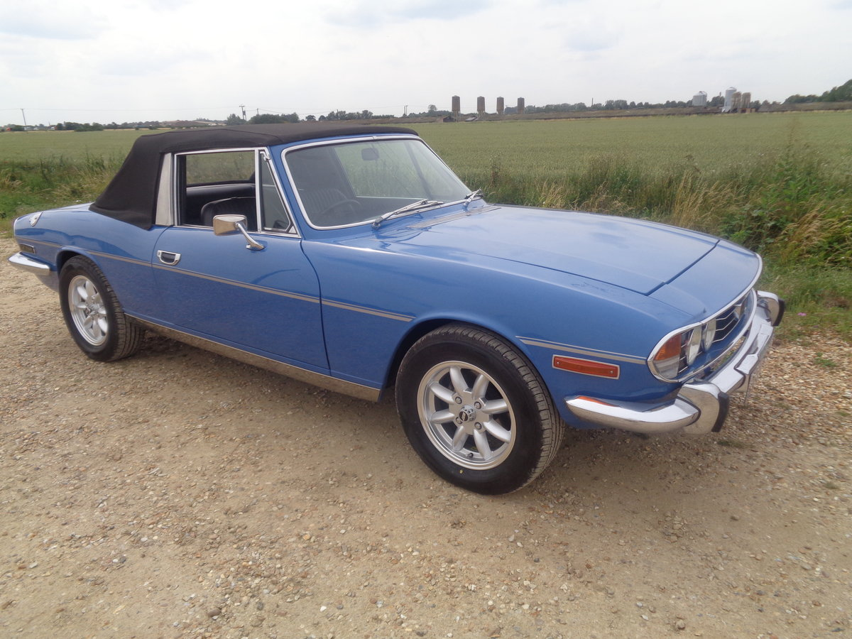 Triumph stag auto - 57,000 miles fsh !! For Sale (picture 1 of 6)