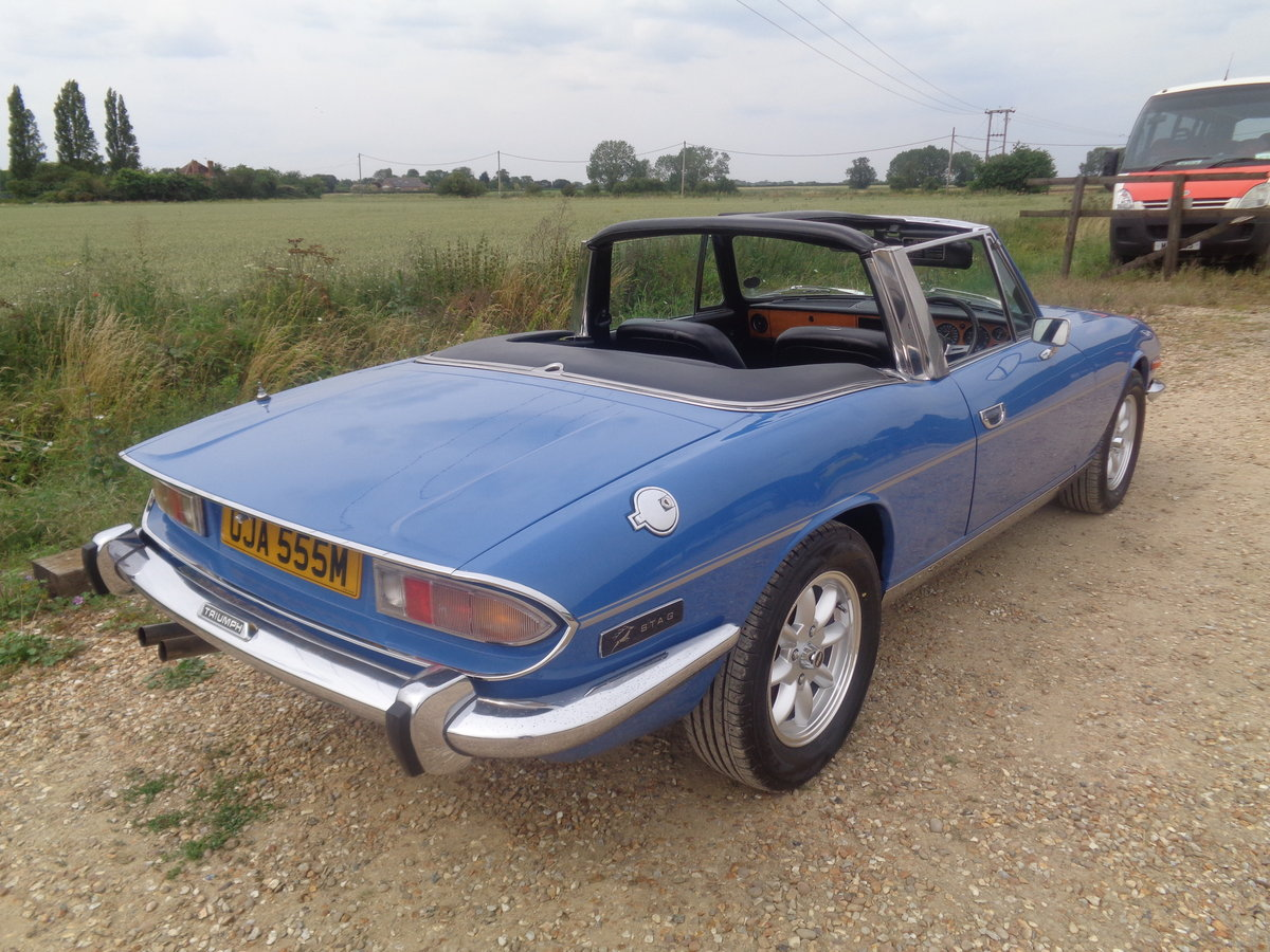 Triumph stag auto - 57,000 miles fsh !! For Sale (picture 3 of 6)