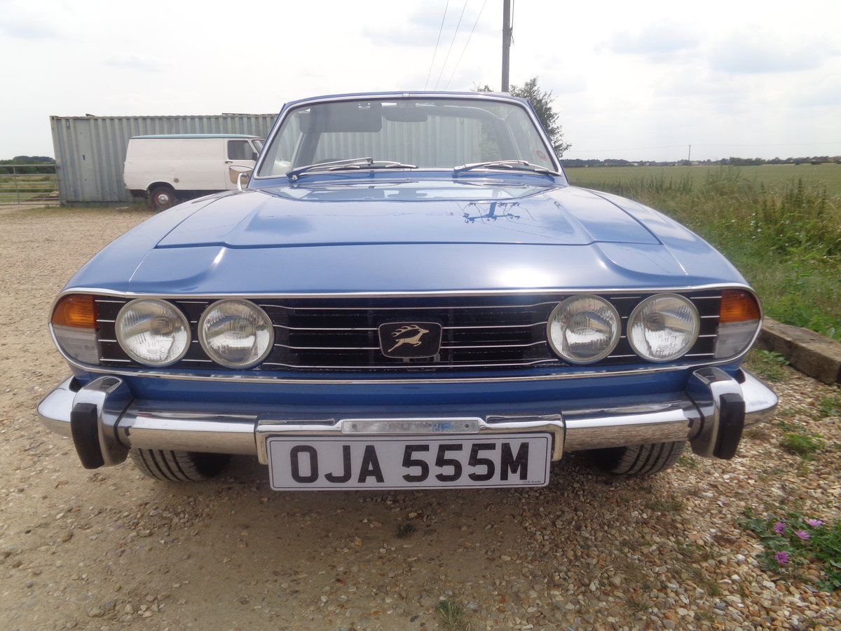 Triumph stag auto - 57,000 miles fsh !! For Sale (picture 6 of 6)