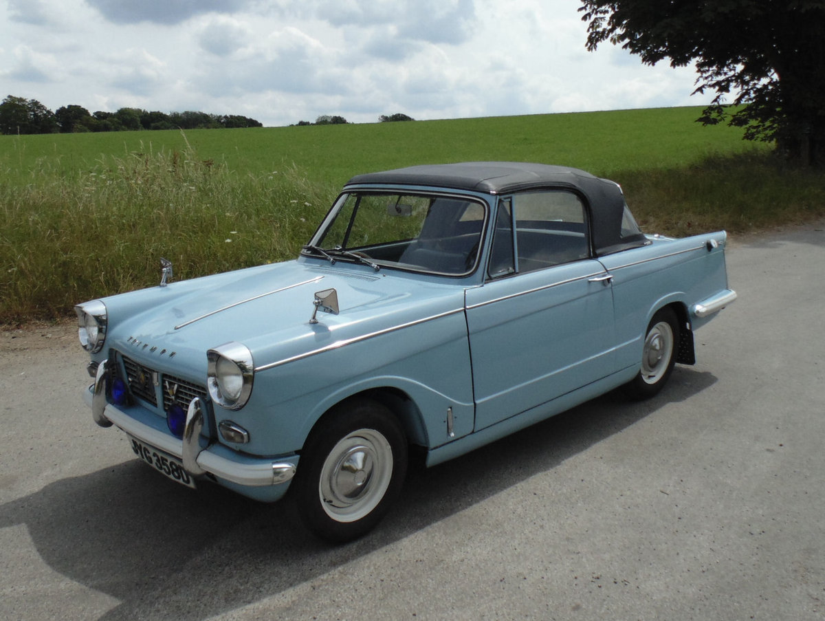 1966 Triumph Herald 1200 Convertible SOLD (picture 1 of 6)