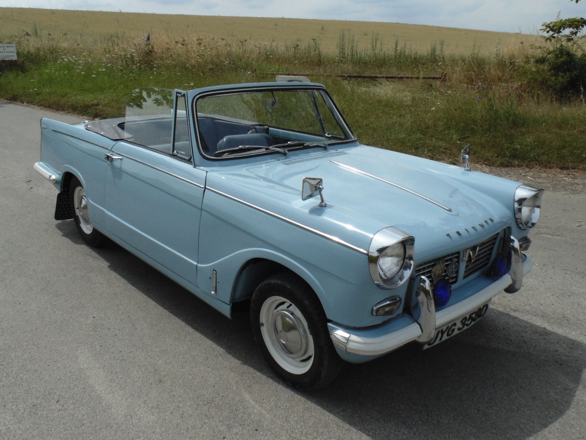 1966 Triumph Herald 1200 Convertible SOLD (picture 2 of 6)