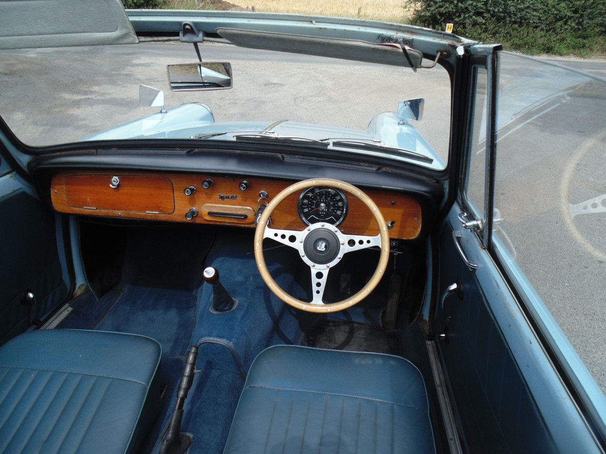 1966 Triumph Herald 1200 Convertible SOLD (picture 4 of 6)