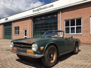 1969 Triumph TR6 for restoration For Sale