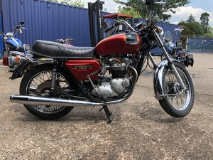 1979 Triumph Bonneville 750cc T140 E - Good Runner