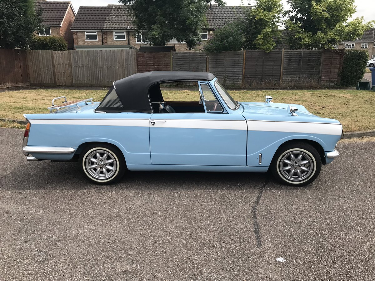 1966 Price Reduced Triumph Vitesse Convertible SOLD (picture 1 of 6)