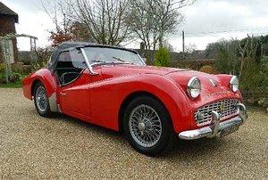 1959 Triumph TR3A for sale in Hampshire ... For Sale